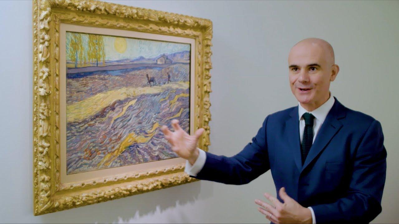 Laboureur Dans Un Champ (Van Gogh)