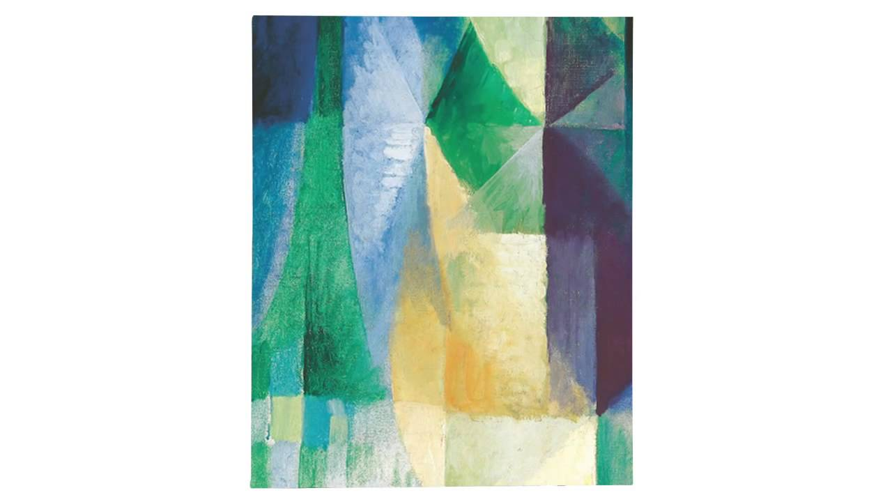 The Window Giving Over the Town (Delaunay)