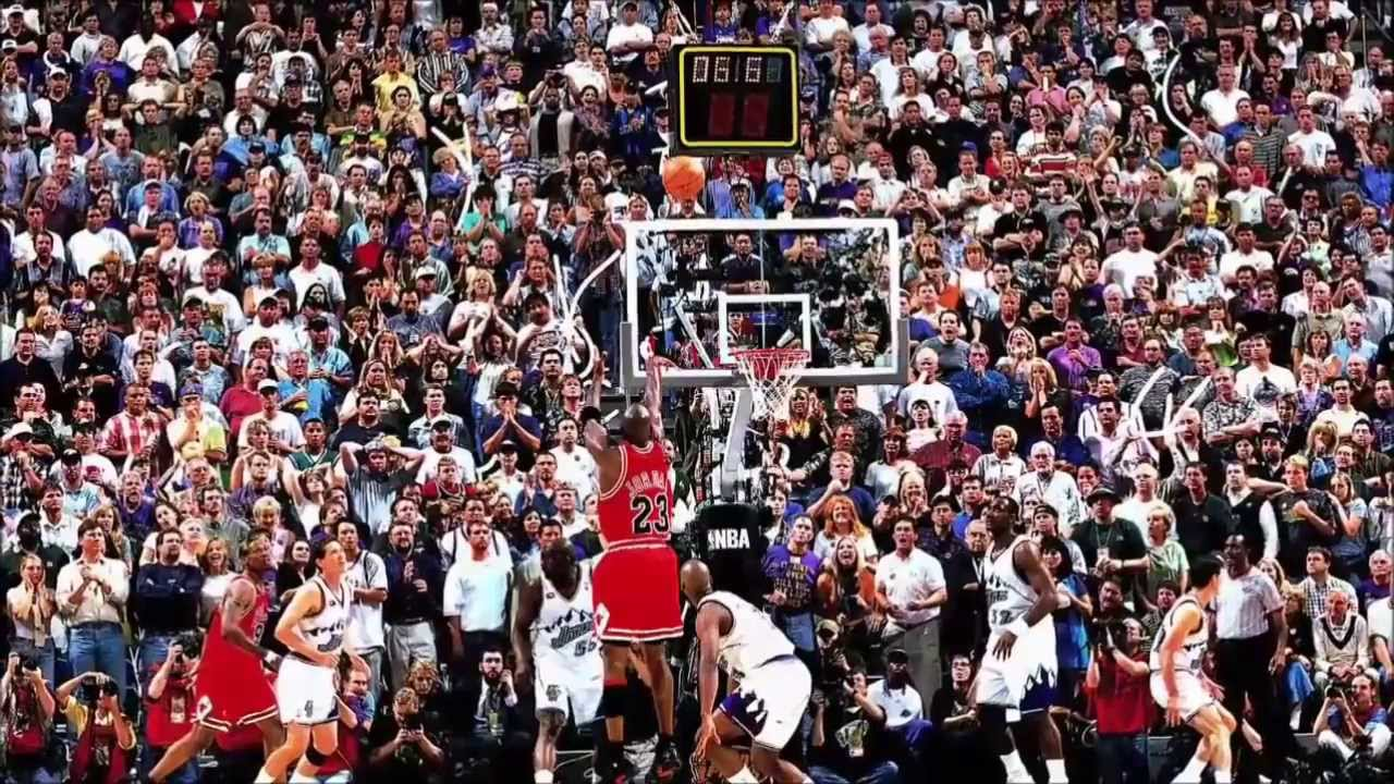 Michael Jordan - The Last Shot