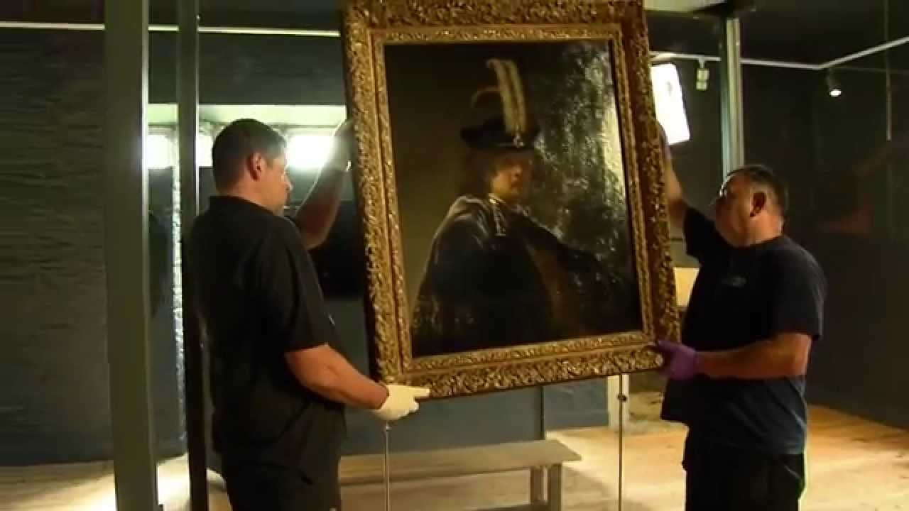 Self Portrait Mystery Solved (Rembrandt)