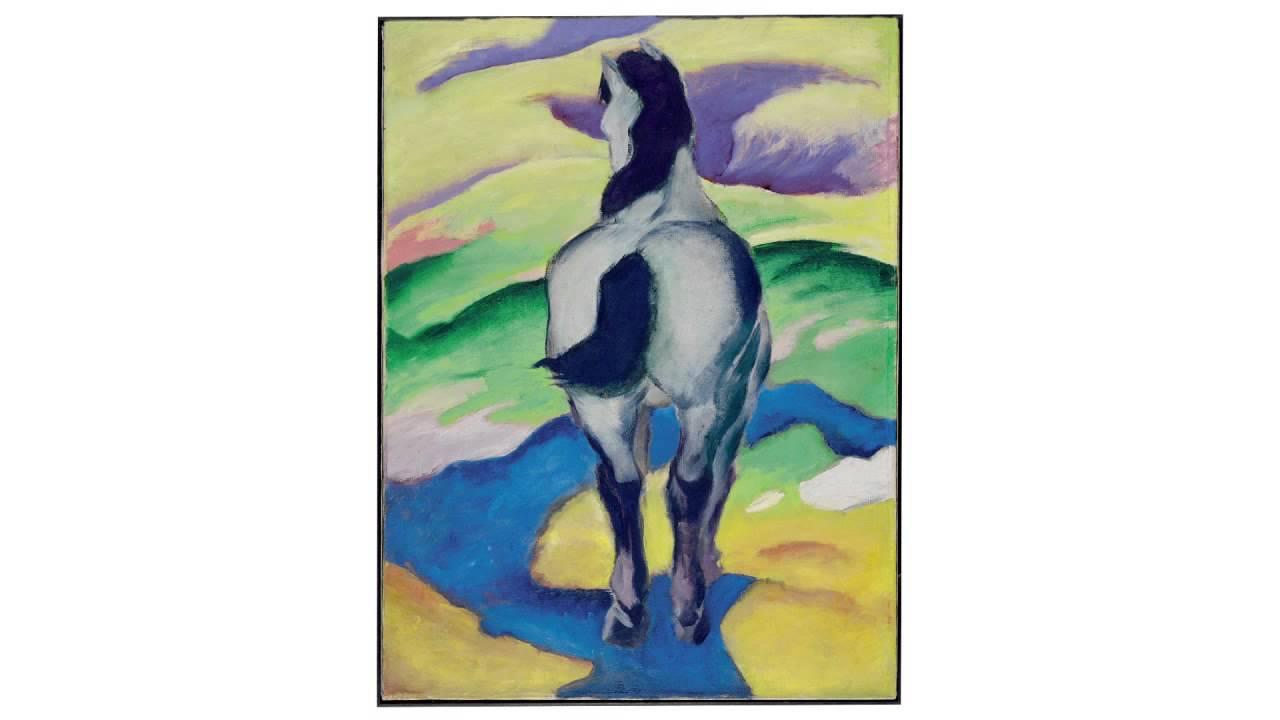 Blaues Pferd II [Blue Horse II] (Franz Marc)
