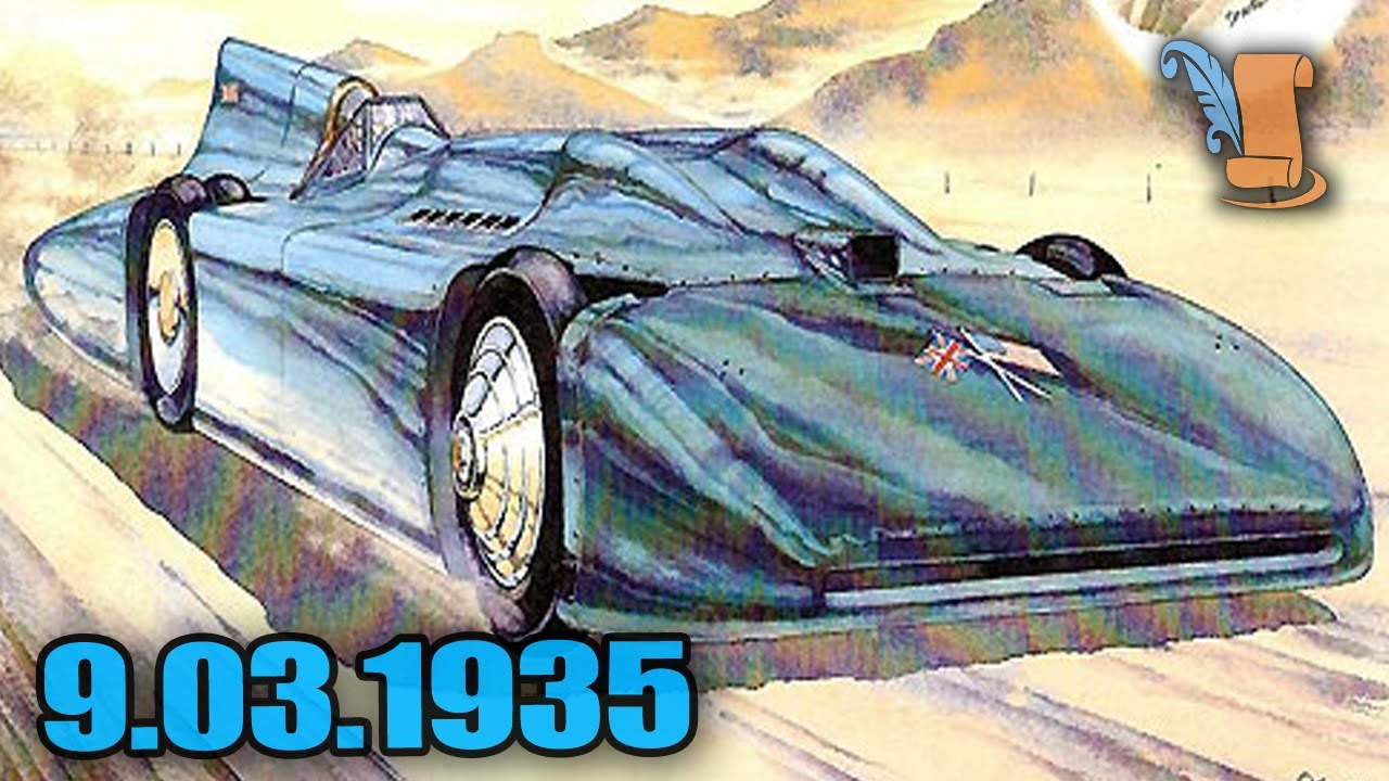 Malcolm Campbell - Land Speed Record