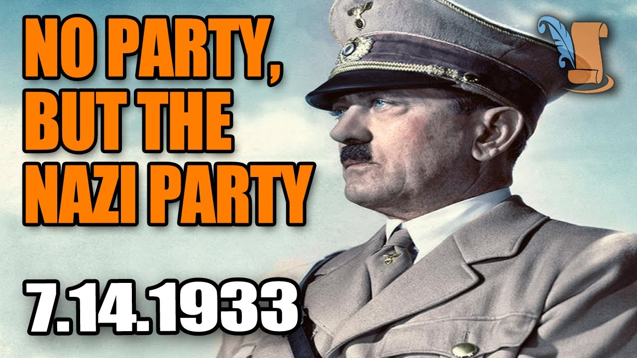 Adolf Hitler - Ban of Political Parties