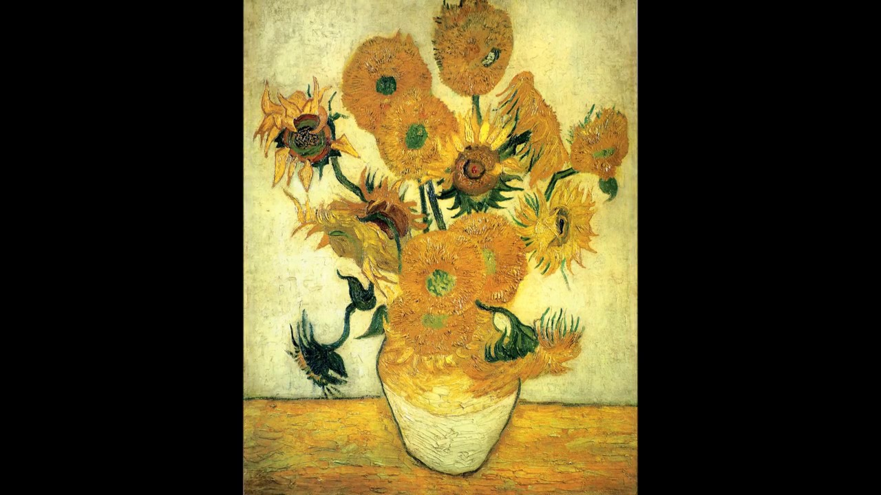 Still Life: Vase with Fourteen Sunflowers (Van Gogh)