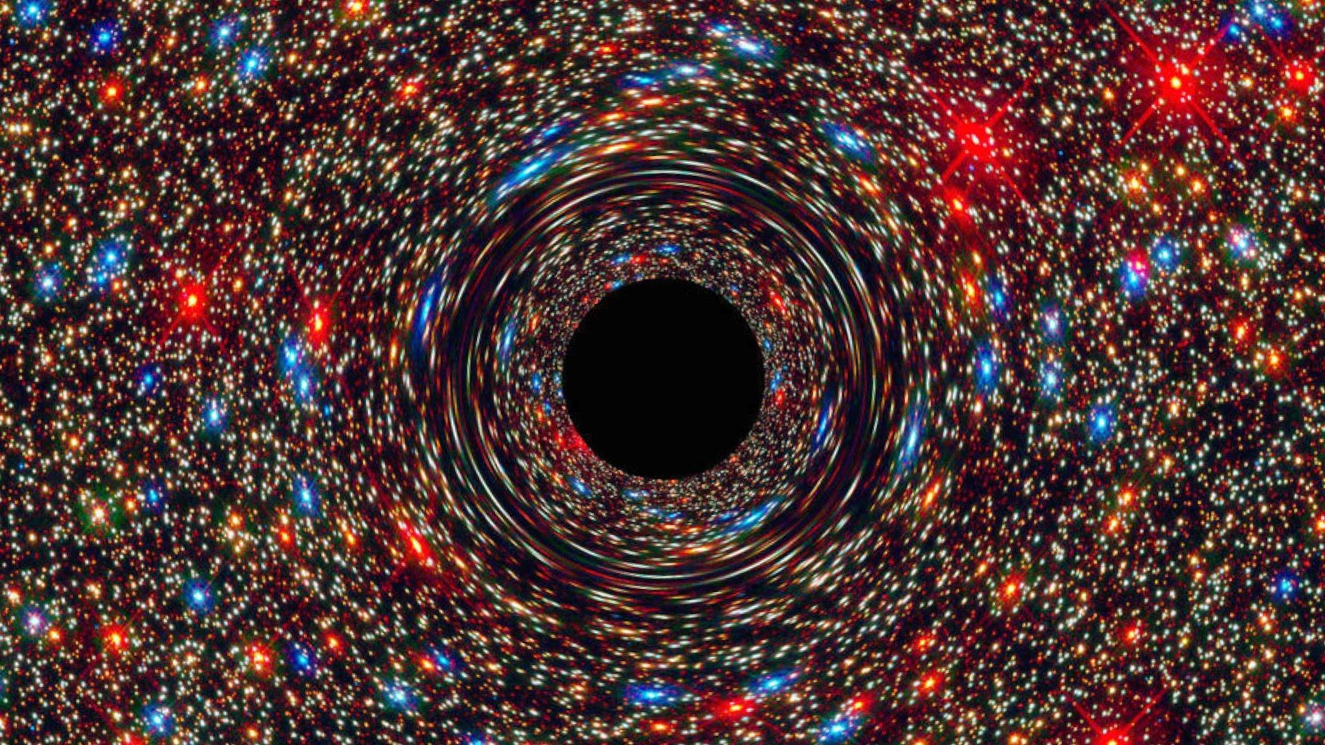 NGC 1600 - Black Hole