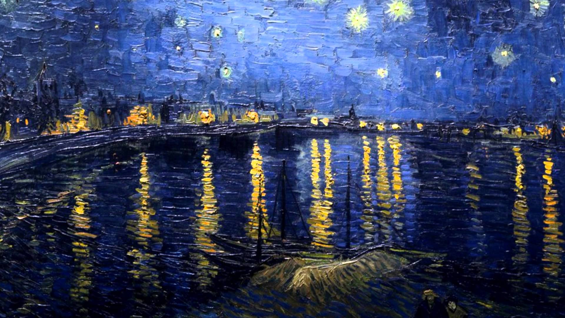 Starry Night Over the Rhône (Van Gogh)