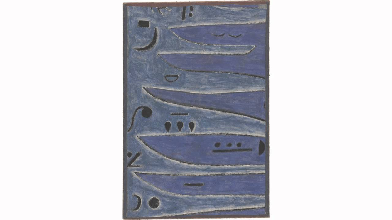 The Grey Man and the Coast (Klee)