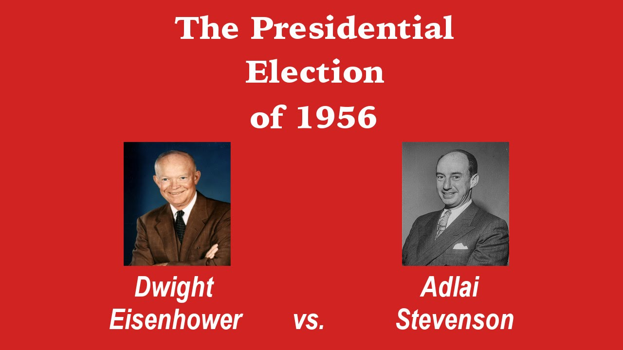 United States Presidential Election - 1956