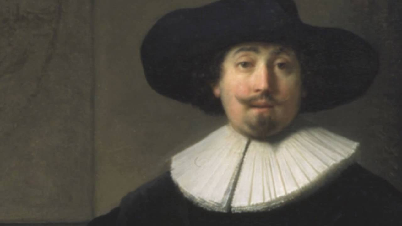 A Lady and Gentleman in Black (Rembrandt)
