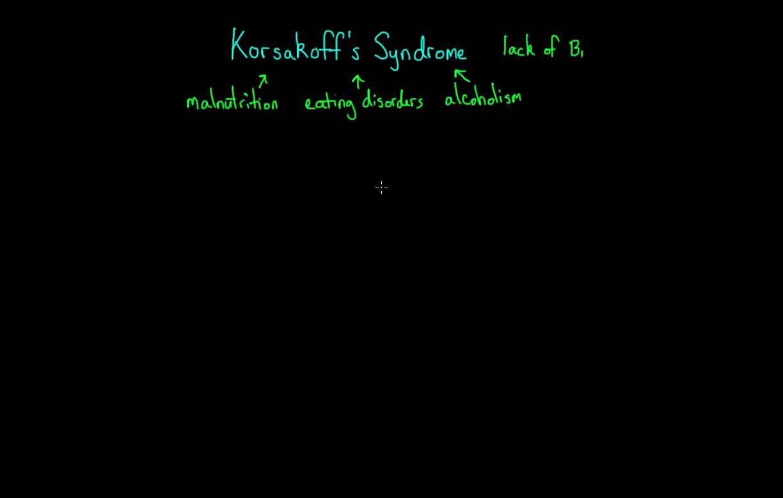 Alzheimer's Disease and Korsakoff's Syndrome