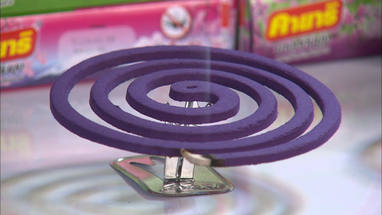 Mosquito Coil - Mechanism