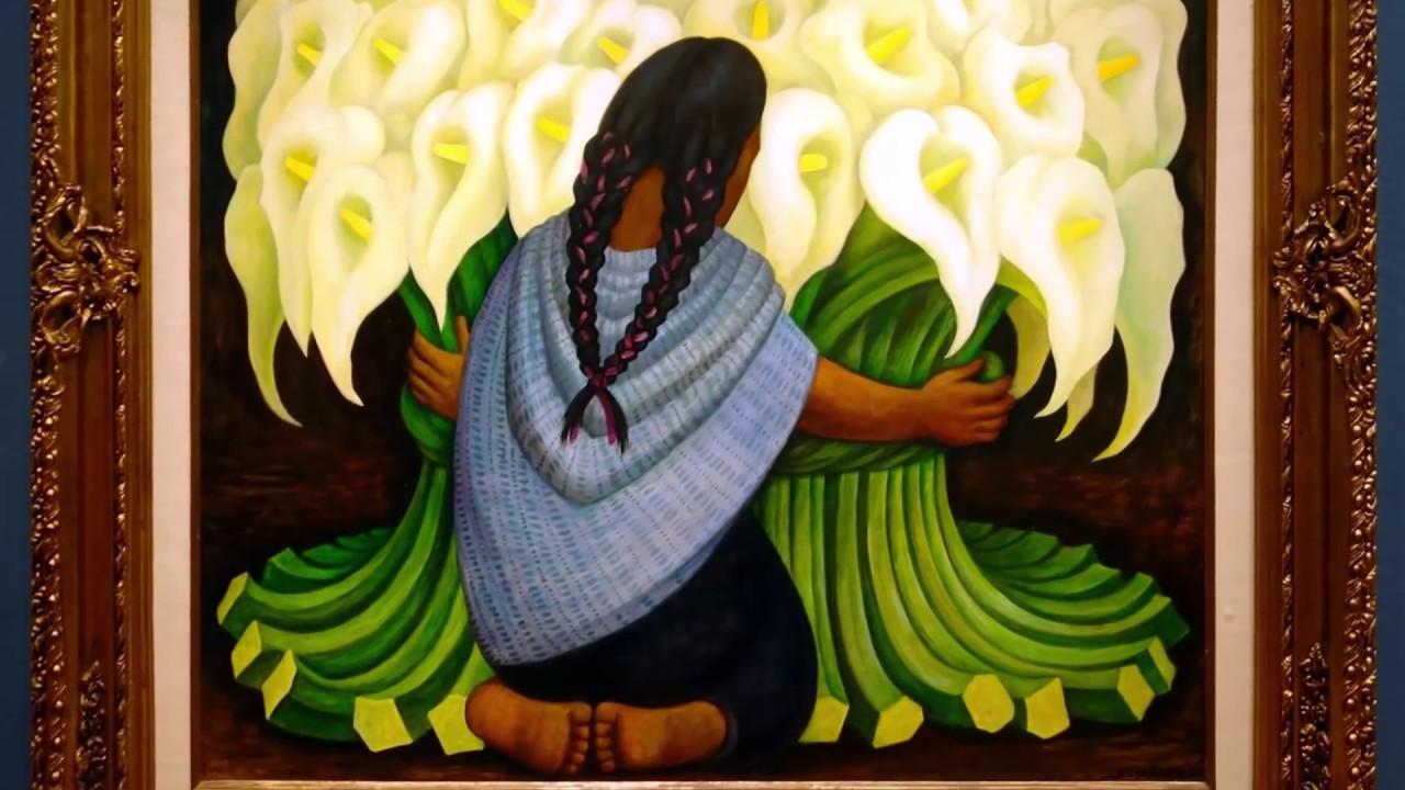 Calla Lilly Vendor (Diego Rivera)