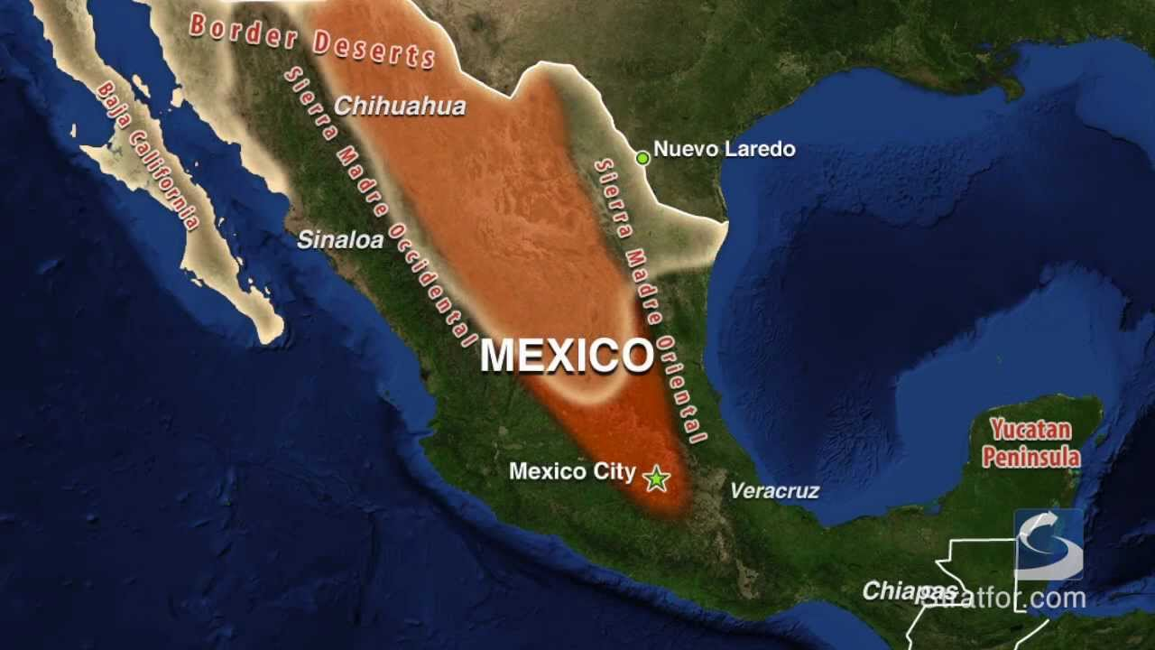 Mexico - Geography