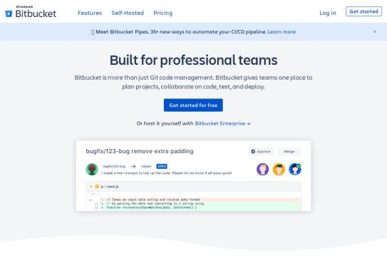 Bitbucket | The Git solution for professional teams – Get Kelvin