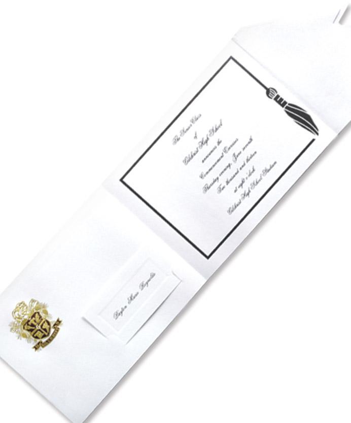 graduation etiquette  herff jones, invitation samples