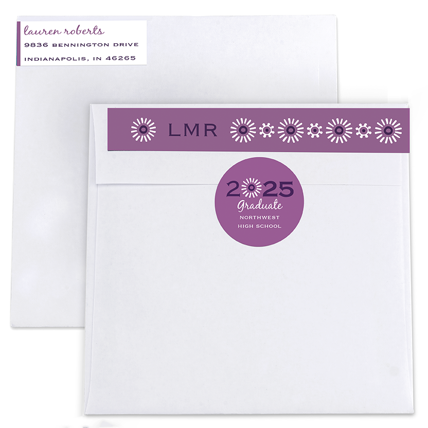 Classy Chic Return Address Labels and Seals