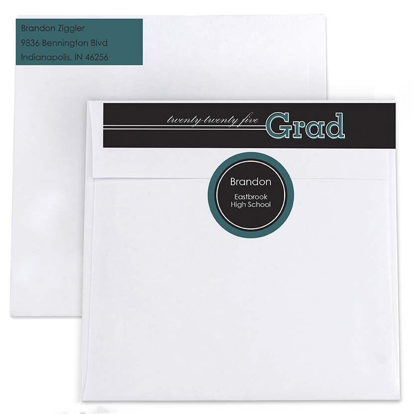ConGRADulations Return Address Labels and Seals