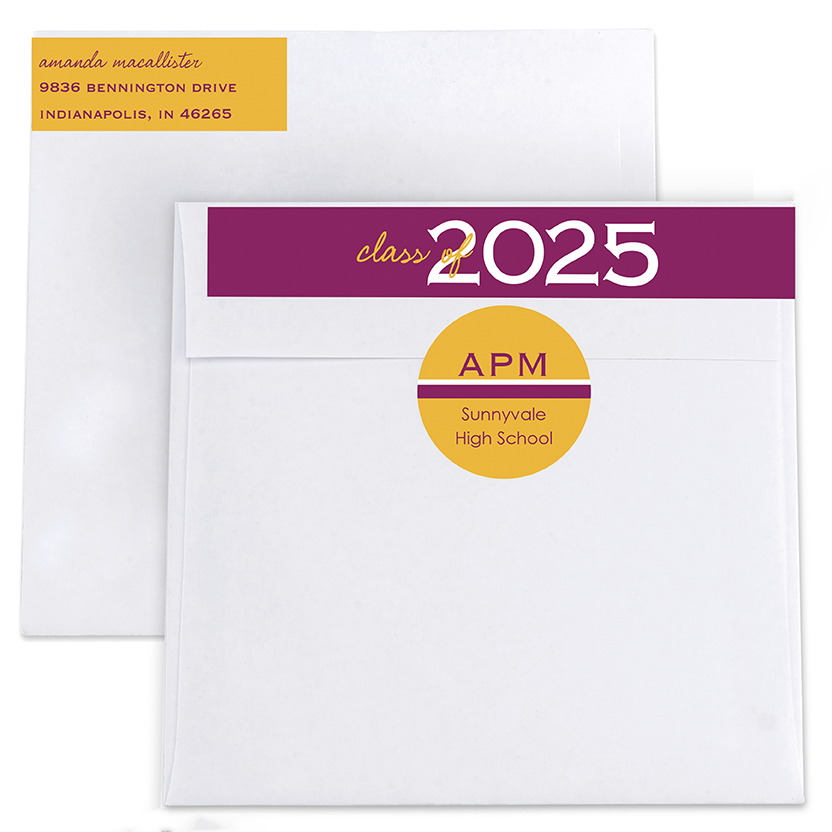 Double Take Return Address Labels and Seals