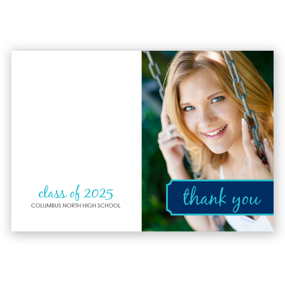 Graduation Celebration Thank You Notes
