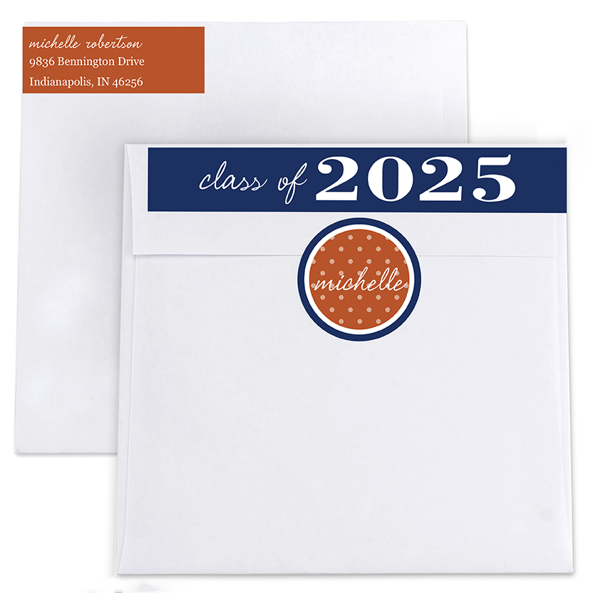 Prestige Dots Return Address Labels and Seals