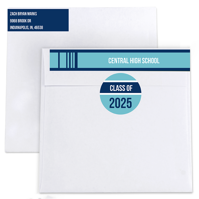 Scrapbook Return Address Labels and Seals