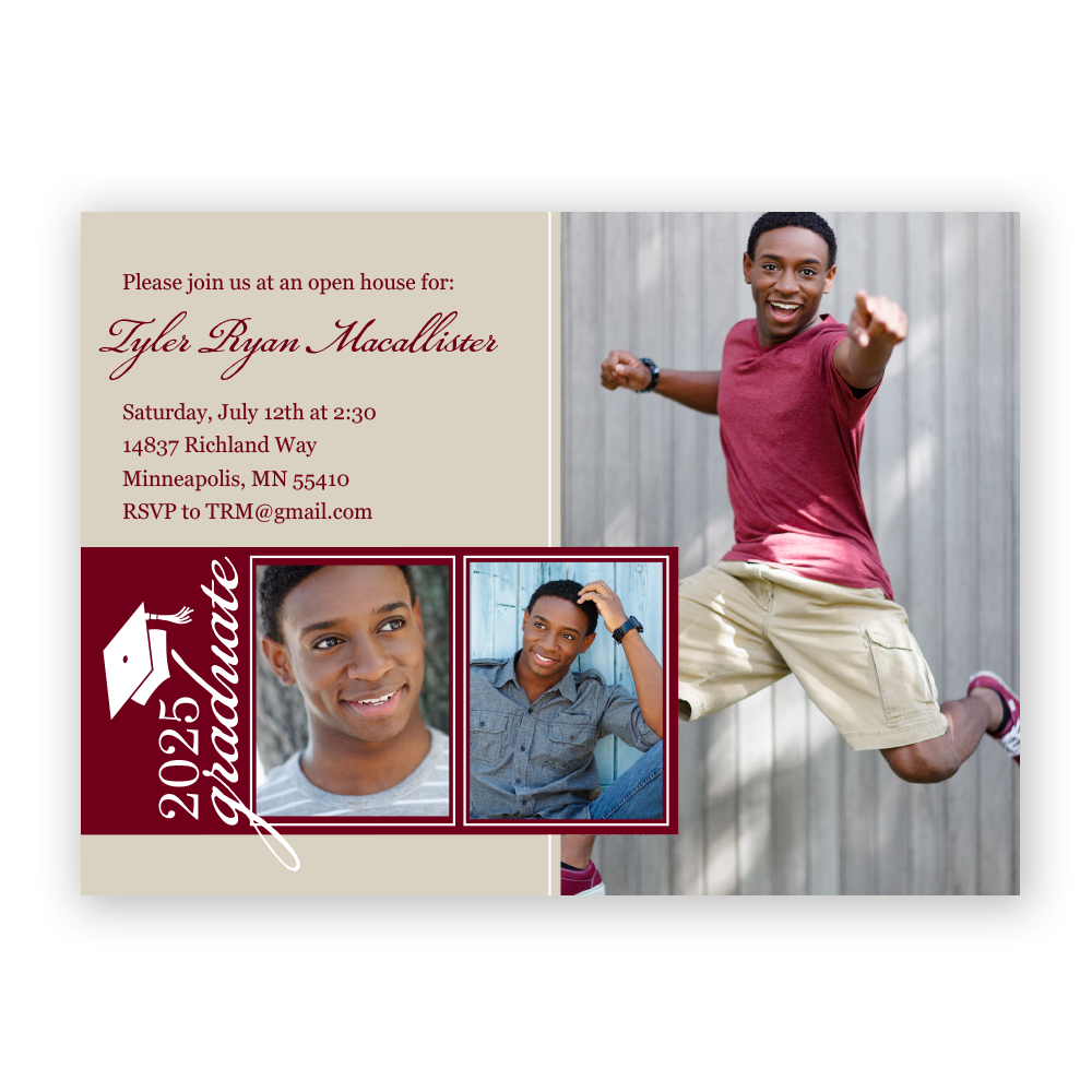 Senior Style Invitations