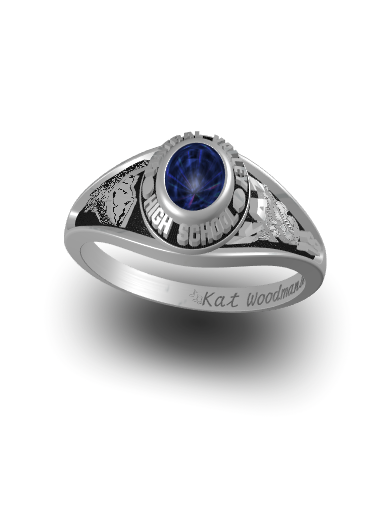 Kathleen's Princess (Oval) Ring