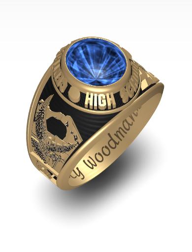 Kathleen's Century (Oval) Ring
