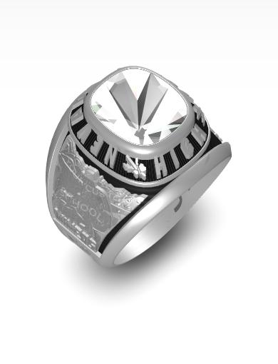 James 's Century (Square) Ring