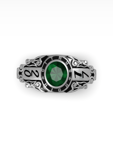 Rhapsody Oval Ring