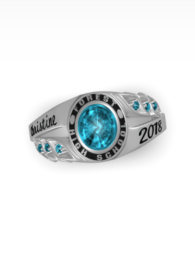 High School Ring Design