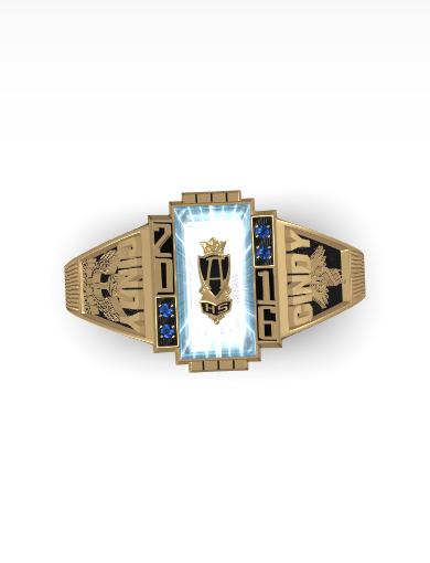Americana Class Ring
