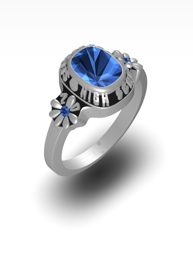 Daisy Square Ring