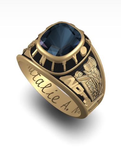 Natalie's Century (Square) Ring