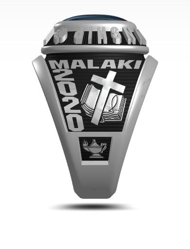 Malaki's Century (Square) Ring