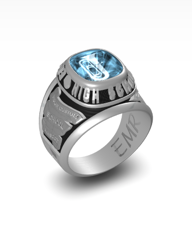 ethan's Century (Square) Ring