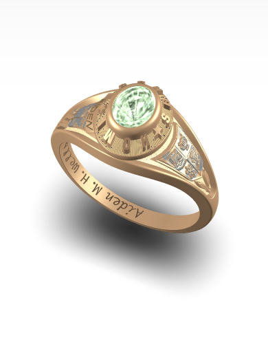 Aiden's Princess (Oval) Ring