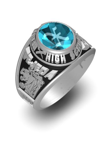 Xavier's Century (Oval) Ring