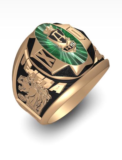 Xavier's Calais Ring