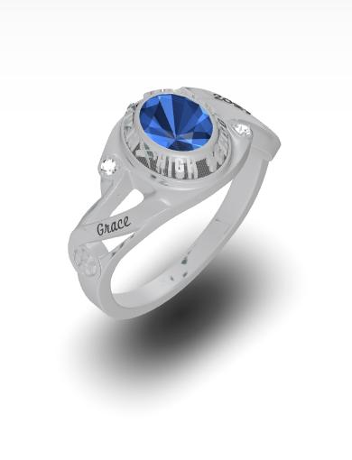 Grace's Cecelia Oval Ring