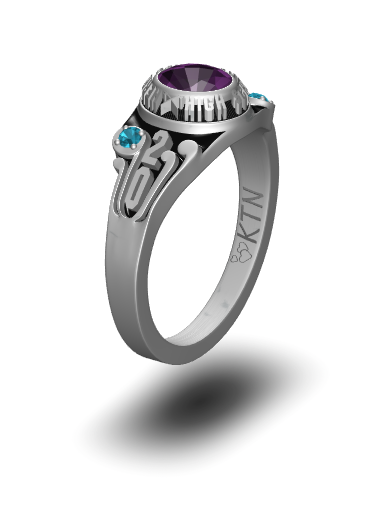 Starfire Oval Ring