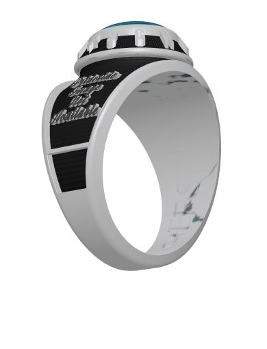 Century (Oval) Ring