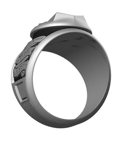 Jonathan's Glacier Ring