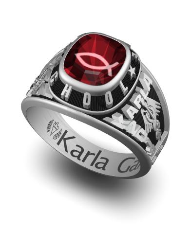 Century (Square) Ring
