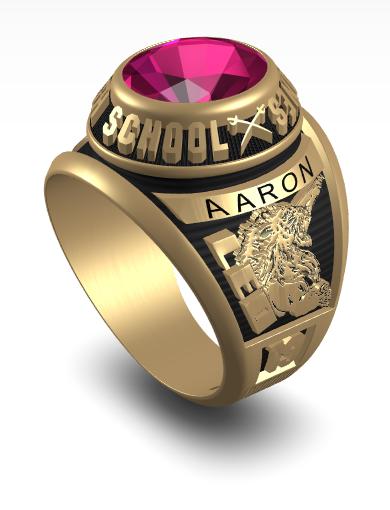 Aaron's Century (Oval) Ring