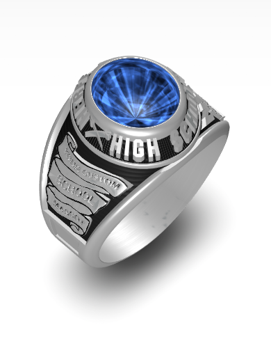Herff's Century (Oval) Ring