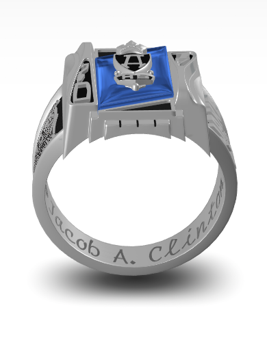 Jacob's Nautilus Ring