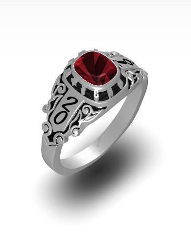 Jasmine's Rhapsody Square Ring