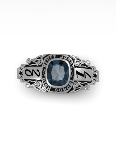 Kendra's Rhapsody Square Ring