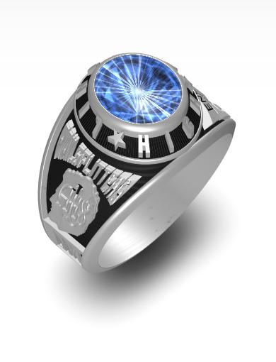 Monty's Century (Oval) Ring